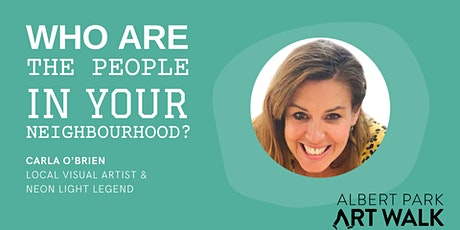 People in Your Neighbourhood Talk - CARLA O'BRIEN tickets