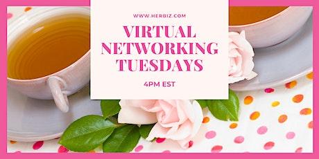 Her Biz™ Virtual Networking Tuesdays tickets