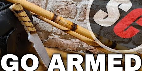 GO ARMED - Online-Trainining für Stock und Messer Tickets