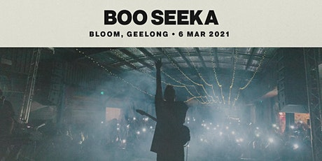 Boo Seeka — Geelong tickets