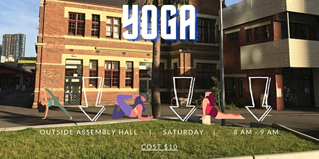 Saturday Yoga @ Boyd Park tickets