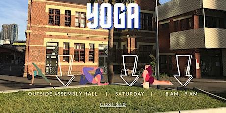 Saturday Yoga @ Boyd Park tickets