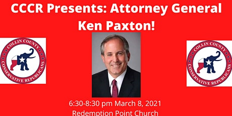 Collin County Conservatives Presents: Attorney General Ken Paxton tickets