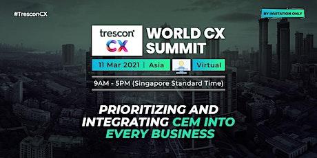 World CX Summit - Asia entradas