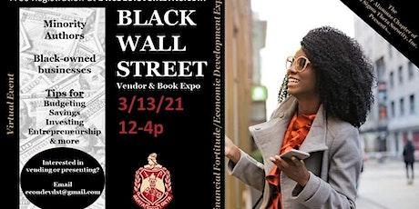 Black Wall Street Author & Vendor Registration tickets