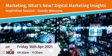 Marketing, What's New? - Part 2 tickets