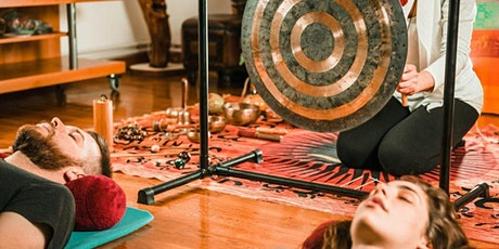 FREE Virtual Gong Bath for Deep Relaxation tickets