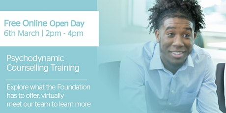 Free Online Counselling Training Open Day   2pm - 4pm tickets