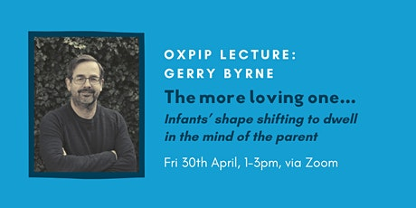 OXPIP Lecture - Gerry Byrne tickets