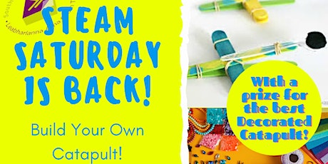 Steam Saturday: Build and decorate your own Catapult tickets