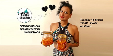 Vegan Korean Kimchi ~ Online Fermentation Workshop tickets