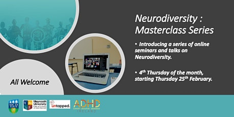 Neurodiversity -  Masterclass Series tickets