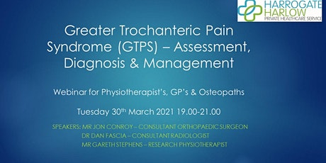 Greater Trochanteric Pain Syndrome - Assessment, Diagnosis & Management tickets