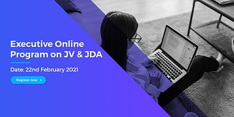 Executive Online Program on Joint Venture & Joint Development Agreement tickets