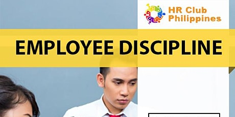 Live Webinar: Employee Discipline & DOLE Compliance tickets