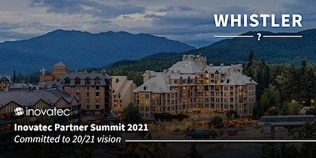 Inovatec Partner Summit 2021 tickets