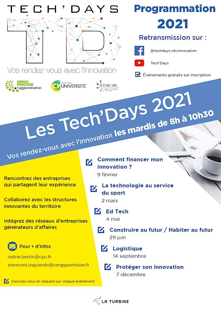 Image pour Tech'Days   Logistique