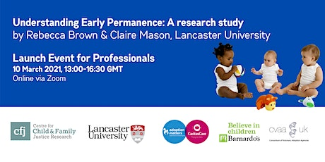 Understanding Early Permanence - Research Report Launch Event tickets