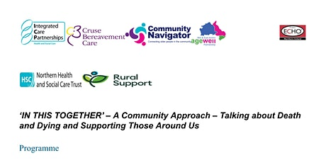 In this together - A Community approach talking about death and dying tickets