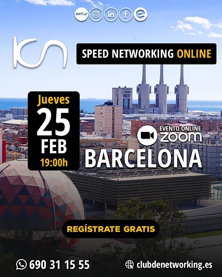 Imagen de KCN Barcelona - Speed Networking Online  25-Feb
