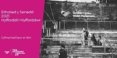 Etholiad y Senedd 2021 - Hyfforddi'r Hyfforddwr tickets
