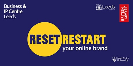 Webinar: Reset. Restart: your online brand tickets