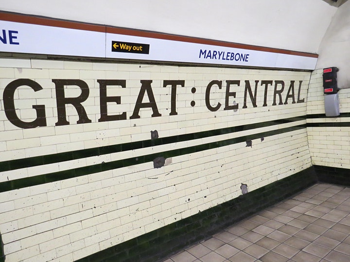 Virtual Tour - An afternoon on the Tiles: the interior design of the tube image