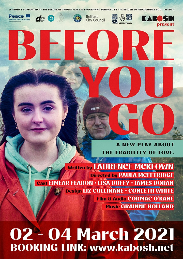 Kabosh present 'Before You Go' by Laurence McKeown image