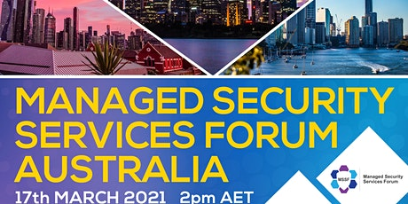 Managed Security Services Forum Australia tickets