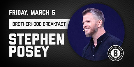 COTM Brotherhood  Breakfast with Stephen Posey tickets