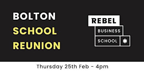 Bolton - School Reunion tickets