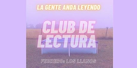 CLUB DE LECTURA LA GENTE ANDA LEYENDO FEBRERO entradas