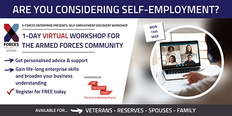 Self Employment Discovery Virtual Workshop tickets