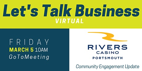 March Let's Talk Business | Portsmouth Economic Development Series tickets