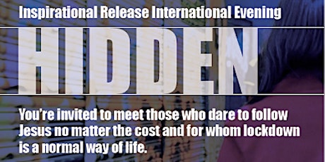 Hidden - Release International Online Event tickets