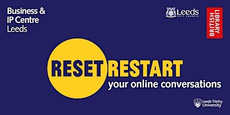 Webinar: your online conversations tickets
