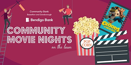 Community Movie Nights on the Lawn tickets