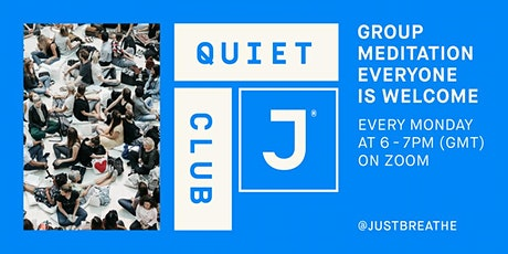 Quiet Club Weekly Group Meditation tickets