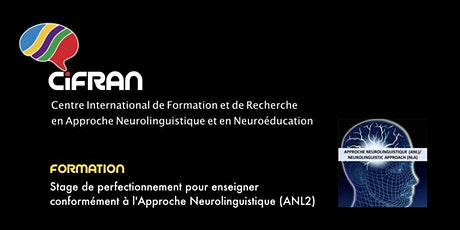 ANL2 - Stage de perfectionnement en Approche Neurolinguistique billets