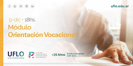 Plan Pre Universitario para Estudiantes Secundarios: Orientación Vocacional entradas