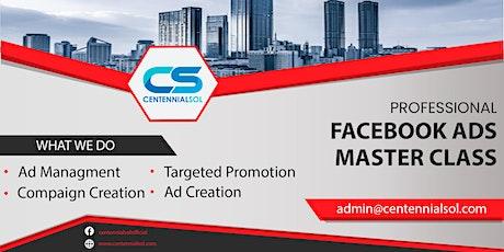 Facebook Ads Master Class tickets