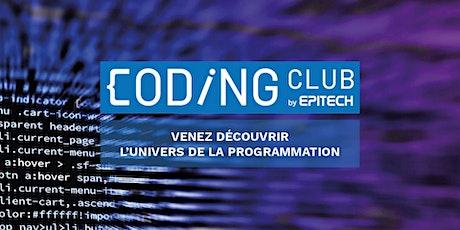 Coding Club Live Campus Epitech Lille tickets