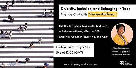 Diversity, Inclusion, and Belonging in Tech with Sheree Atcheson tickets