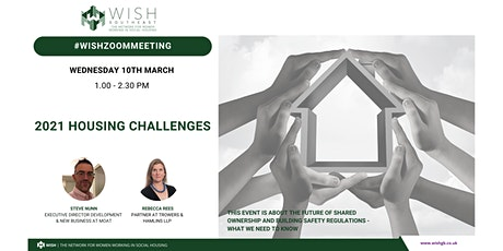 WISH South East National Event: 2021 Housing Challenges tickets