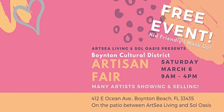 Boynton Cultural District Artisan Fair tickets