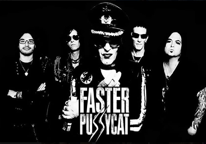 Faster Pussycat, Enuff Z'Nuff and Kickin Valentina image