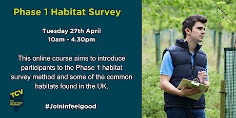 Phase 1 Habitat Survey Techniques tickets
