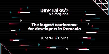 DevTalks Reimagined 2021 - online edition entradas