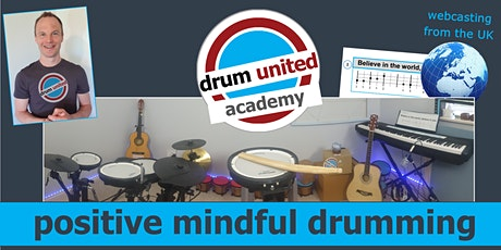 positive mindful drumming & body percussion {48 hr access} tickets