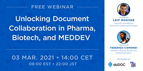 Unlocking document collaboration in Pharma, Biotech, and MEDDEV tickets